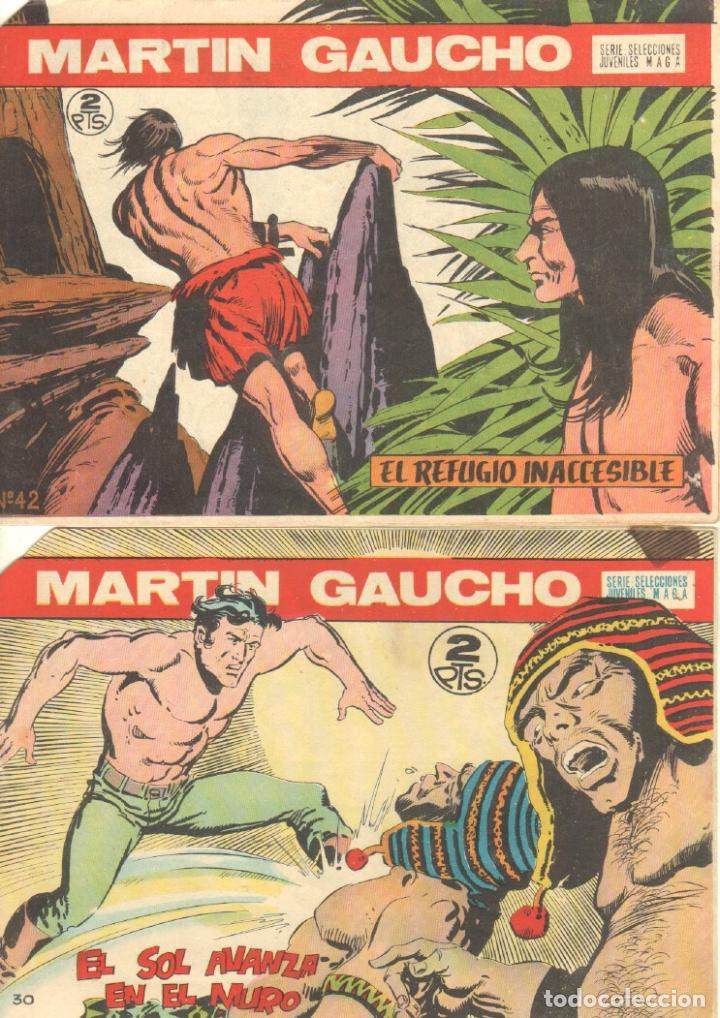 Tebeos: MARTIN GAUCHO ORIGINALES 1964 - LOTE 12 NºS - 1,2,3,4,7,9,12,14,15,30,42,44 - Foto 4 - 75550415