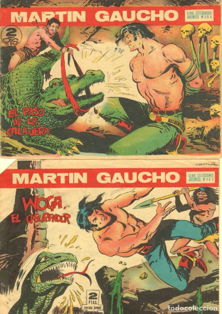Tebeos: MARTIN GAUCHO ORIGINALES 1964 - LOTE 12 NºS - 1,2,3,4,7,9,12,14,15,30,42,44 - Foto 5 - 75550415