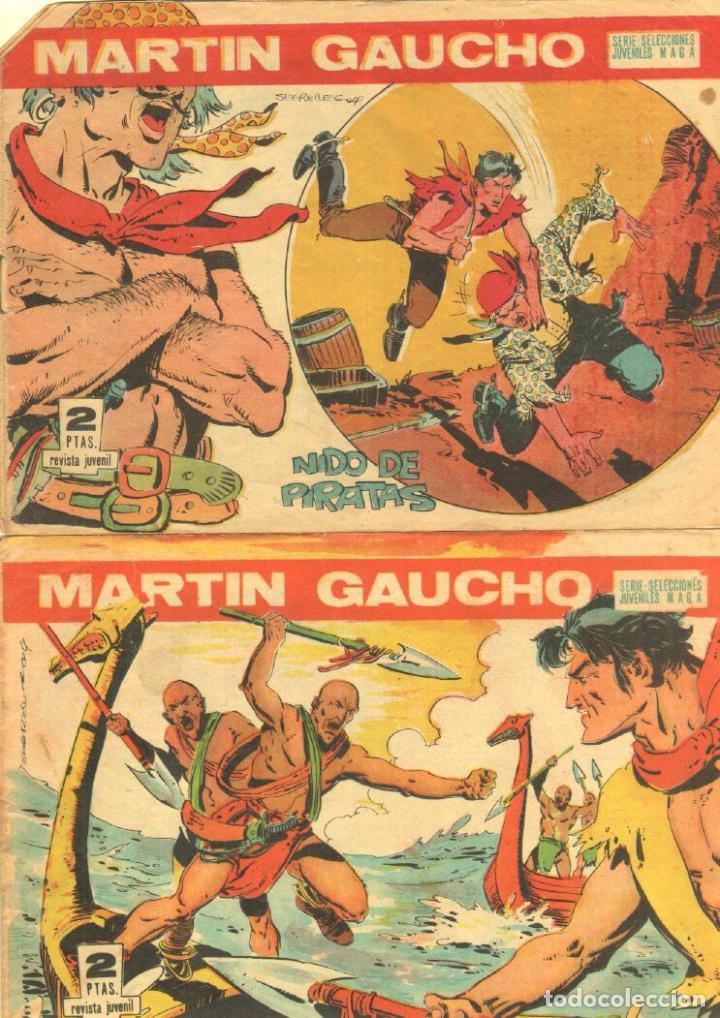 Tebeos: MARTIN GAUCHO ORIGINALES 1964 - - LOTE 12 NºS - 1,2,3,4,7,9,12,14,15,30,42,44 - Foto 6 - 75550415