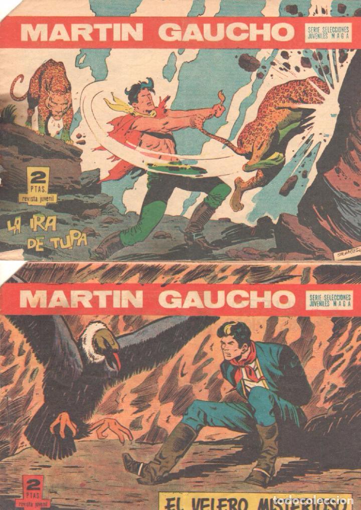 Tebeos: MARTIN GAUCHO ORIGINALES 1964 - LOTE 12 NºS - 1,2,3,4,7,9,12,14,15,30,42,44 - Foto 7 - 75550415
