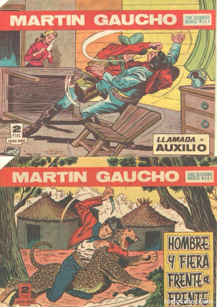 Tebeos: MARTIN GAUCHO ORIGINALES 1964 - LOTE 12 NºS - 1,2,3,4,7,9,12,14,15,30,42,44 - Foto 8 - 75550415