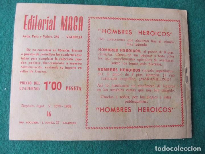 Tebeos: EL DEFENSOR Nº 16 EDITORIAL MAGA - Foto 2 - 75974427
