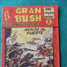 Tebeos: EL GRAN BUSH Nº 7 EDITORIAL MAGA. Lote 75975107