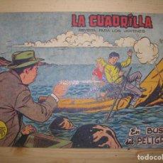 Tebeos: LA CUADRILLA MUERTE EN BUSCA DEL PELIGRO Nº6. Lote 77264761