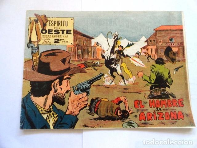 COMIC ESPIRITU DEL OESTE EL HOMBRE DE ARIZONA, MAGA Nº 8 (Tebeos y Comics - Maga - Otros)