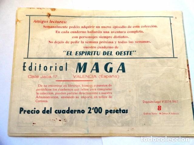 Tebeos: COMIC ESPIRITU DEL OESTE EL HOMBRE DE ARIZONA, MAGA Nº 8 - Foto 4 - 77524933
