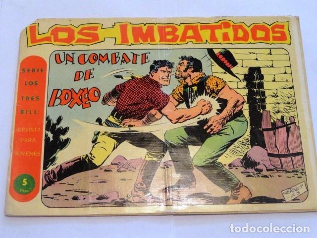 COMIC LOS IMBATIDOS , UN COMBATE DE BOXEO SERIE LOS TRES BILL Nº8 MAGA (Tebeos y Comics - Maga - Otros)