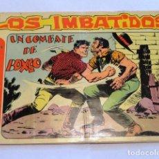 Tebeos: COMIC LOS IMBATIDOS , UN COMBATE DE BOXEO SERIE LOS TRES BILL Nº8 MAGA. Lote 77525761