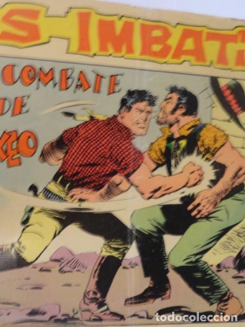 Tebeos: COMIC LOS IMBATIDOS , UN COMBATE DE BOXEO SERIE LOS TRES BILL Nº8 MAGA - Foto 3 - 77525761