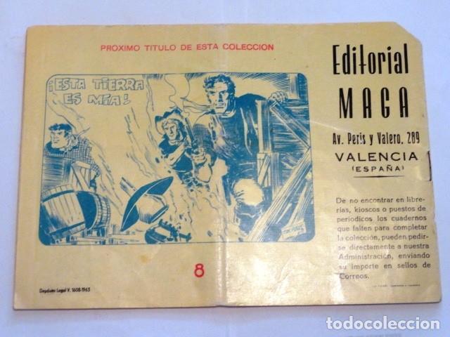 Tebeos: COMIC LOS IMBATIDOS , UN COMBATE DE BOXEO SERIE LOS TRES BILL Nº8 MAGA - Foto 6 - 77525761