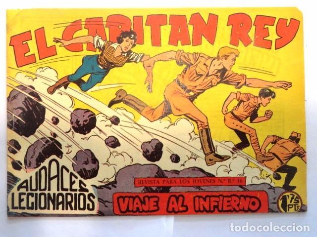 COMIC EL CAPITAN REY, VIAJE AL INFIERNO, AUDACES LEGIONARIOS Nº35 MAGA (Tebeos y Comics - Maga - Otros)