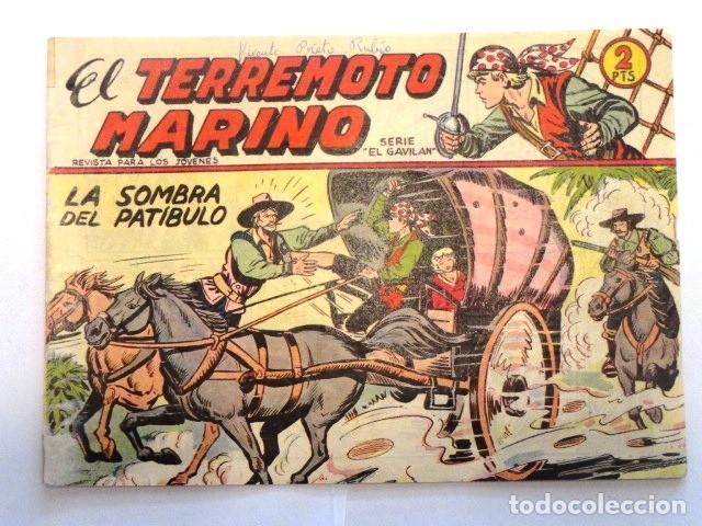 COMIC EL TERREMOTO MARINO, LA SOMBRA DEL PATIBULO SERIE EL GAVILAN, MAGA, Nº 3 (Tebeos y Comics - Maga - Otros)
