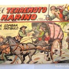 Tebeos: COMIC EL TERREMOTO MARINO, LA SOMBRA DEL PATIBULO SERIE EL GAVILAN, MAGA, Nº 3. Lote 77527113