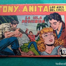 Tebeos: TONY Y ANITA Nº 37 EDITORIAL MAGA 1953. Lote 77732765