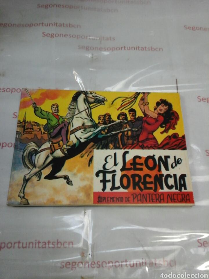 EL LEÓN DE FLORENCIA - SUPLEMENTO DE PANTERA NEGRA - ED. MAGA (Tebeos y Comics - Maga - Pantera Negra)