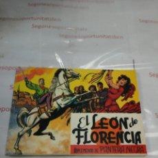 Tebeos: EL LEÓN DE FLORENCIA - SUPLEMENTO DE PANTERA NEGRA - ED. MAGA. Lote 79100022