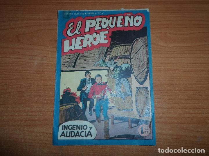 EL PEQUEÑO HEROE Nº 30 ORIGINAL EDITORIAL MAGA 1958 (Tebeos y Comics - Maga - Pequeño Héroe)