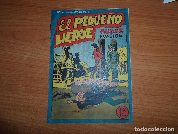 EL PEQUEÑO HEROE Nº 52 EDITORIAL MAGA ORIGINAL (Tebeos y Comics - Maga - Pequeño Héroe)