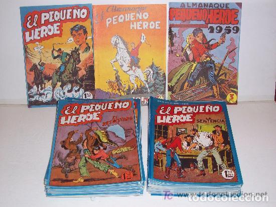 MAGA/ EL PEQUEÑO HEROE, COMPLETA, 120 NÚMEROS MÁS 2 ALMANAQUES (Tebeos y Comics - Maga - Pequeño Héroe)
