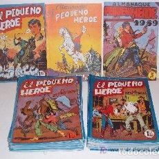 Tebeos: MAGA/ EL PEQUEÑO HEROE, COMPLETA, 120 NÚMEROS MÁS 2 ALMANAQUES. Lote 81299876