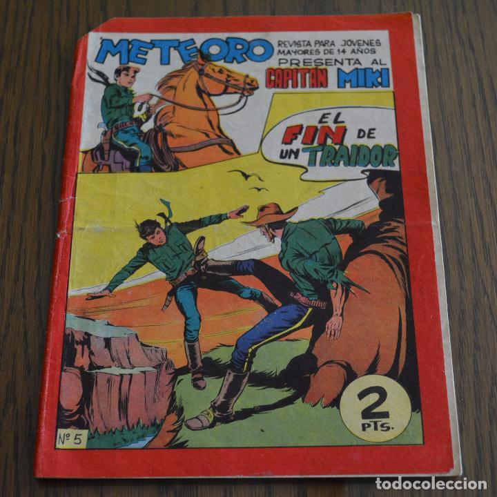 METEORO. CAPITAN MIKI (EL PEQUEÑO HEROE) Nº 5. ORIGINAL MAGA. LITERACOMIC. (Tebeos y Comics - Maga - Pequeño Héroe)