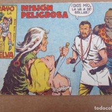 Tebeos: RAYO DE LA SELVA , N.16 , MISION PILIGROSA , VALENCIANA 1960. Lote 83781696