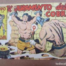 Tebeos: RAYO DE LA SELVA , N.52 , EL JURAMENTO DEL COBRA , MAGA 1960. Lote 84014992
