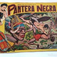 Tebeos: LOT110 COMIC ORIGINAL PEQUEÑO PANTERA NEGRA NUMERO 1, DE MAGA, 1958 1ª EDICION 1,50. Lote 84536284