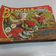 Tebeos: BENGALA ORIGINAL 2ª PARTE COMPLETA 45 EJEMPLARES -MAGA 1960 SUELTOS MUY BUENOS.. Lote 86059492