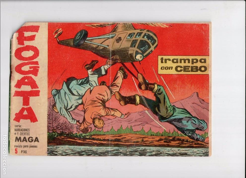 FOGATA Nº 13 -ORIGINAL- (Tebeos y Comics - Maga - Otros)