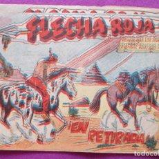 BDs: LOTE 3 TEBEOS FLECHA ROJA, ED. MAGA, VER FOTOS ADICIONALES. Lote 86293224