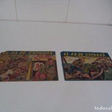 Tebeos: EL AS DE ESPADAS, AÑO 1.954. Nº 2 Y 20. ORIGINALES DIBUJANTE M. GAGO. EDITORIAL MAGA.. Lote 86522196