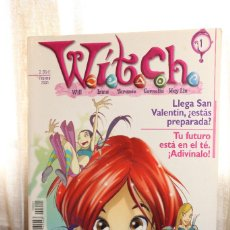 Tebeos: GRAN LOTE WITCH (THE WALT DISNEY COMPANY IBERIA) ORIGINAL UNOS 54. Lote 87089636