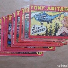 Giornalini: TONY Y ANITA - LOTE 10 EJEMPLARES RESERVADO - MAGA - JMV. Lote 87230432