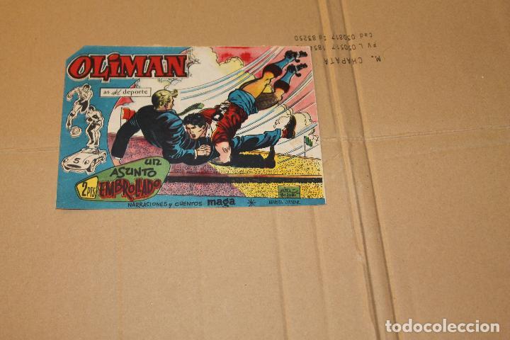 OLIMAN Nº 27, EDITORIAL MAGA (Tebeos y Comics - Maga - Oliman)