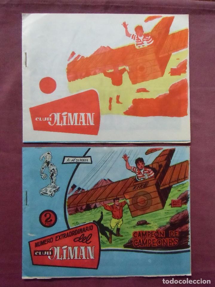 TEBEOS.AS DEL DEPORTE,Nº 21(2)UNO CON ERROR DE IMPRESIÓN EN PORTADA. (Tebeos y Comics - Maga - Oliman)