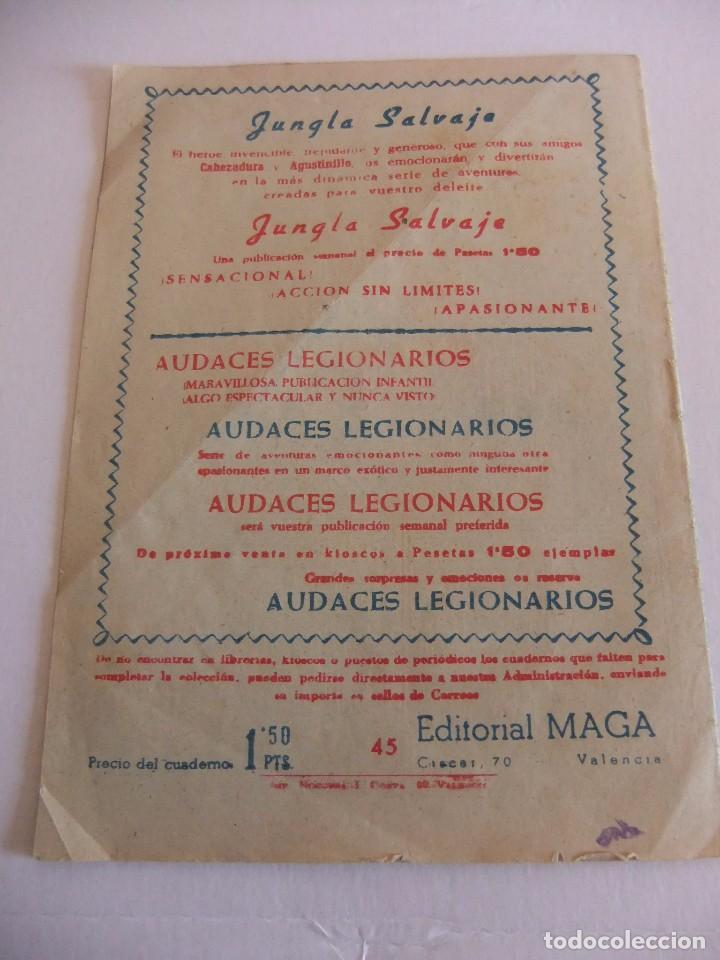 Tebeos: EL PEQUEÑO HEROE Nº 45 EDITORIAL MAGA - Foto 2 - 88104688