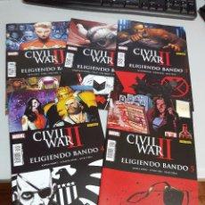 Tebeos: CIVIL WAR II : ELIGIENDO BANDO ¡ COMPLETA 5 NUMEROS ! MARVEL - PANINI. Lote 289551633
