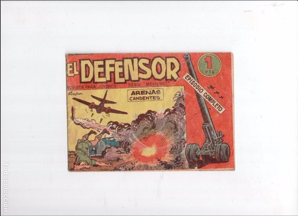 EL DEFENSOR Nº 4 -ORIGINAL- (Tebeos y Comics - Maga - Otros)