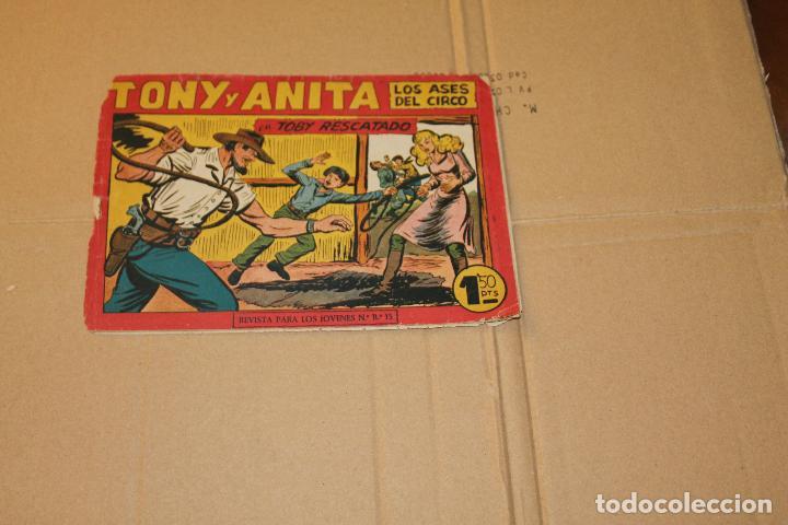 TONI Y ANITA Nº 153(ÚLTIMO DE LA COLECCIÓN), EDITORIAL MAGA (Tebeos y Comics - Maga - Tony y Anita)