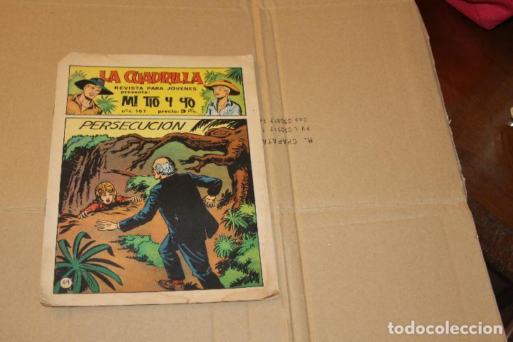 LA CUADRILLA, MI TIO Y YO Nº 49(ÚLTIMO NÚMERO DE LA COLECCIÓN), EDITORIAL MAGA (Tebeos y Comics - Maga - Otros)