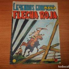 Tebeos: FLECHA ROJA REVISTA Nº 40 EDITORIAL MAGA . . Lote 88938740