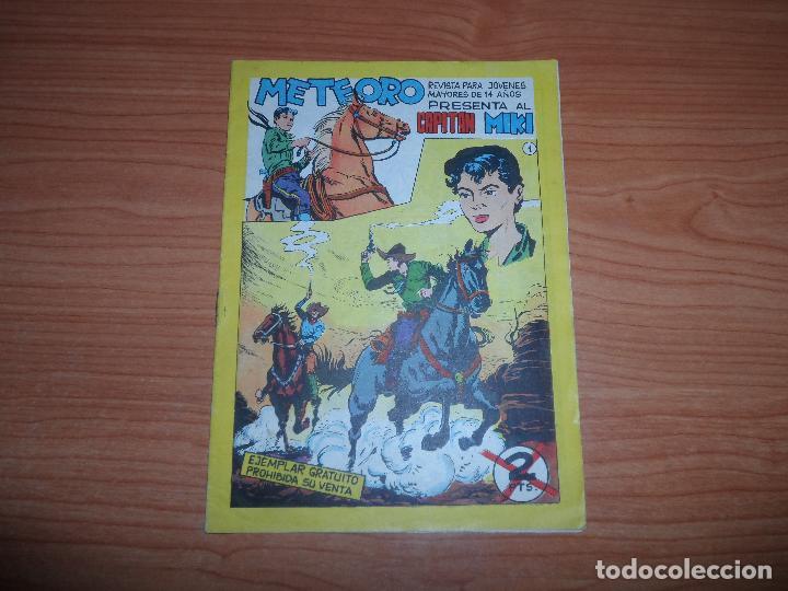 EL CAPITAN MIKI , EL PEQUEÑO HEROE Nº 1 ORIGINAL EDITORIAL MAGA 1964 (Tebeos y Comics - Maga - Pequeño Héroe)