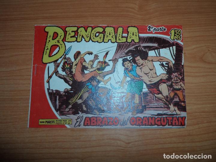 BENGALA Nº 8 2 ª PARTE EDITORIAL MAGA ORIGINAL (Tebeos y Comics - Maga - Bengala)