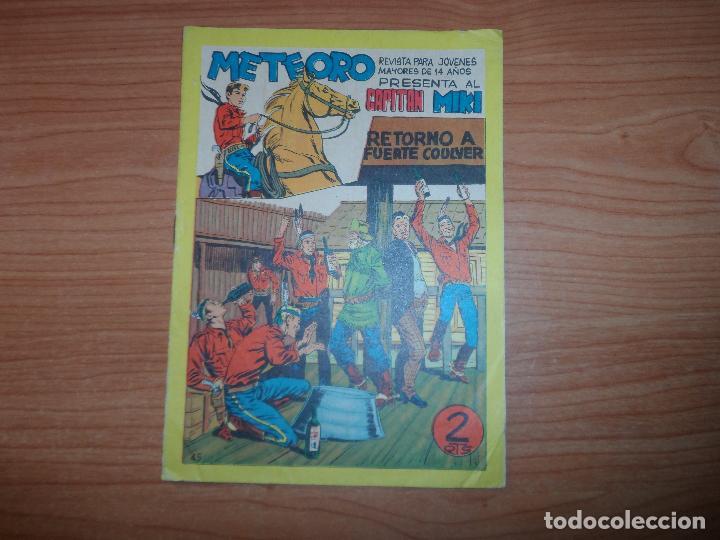 EL CAPITAN MIKI , EL PEQUEÑO HEROE Nº 45 ORIGINAL EDITORIAL MAGA 1964 (Tebeos y Comics - Maga - Pequeño Héroe)