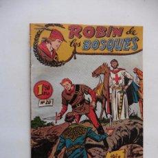 Tebeos: ROBIN DE LOS BOSQUES Nº 20 EDITORIAL FERMA ORIGINAL. Lote 89727332