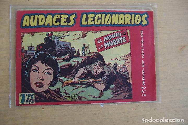 Tebeos: maga audaces legionarios completa - con almanaque incluido - Foto 3 - 35365923