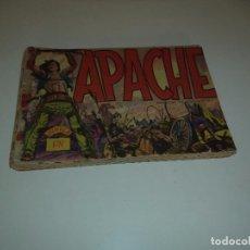 Tebeos: APACHE, AÑO 1.956. LOTE DE 21. TEBEOS ORIGINALES EDITORIAL MAGA.. Lote 90371148