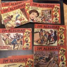 Tebeos: COLECCION COMPLETA DE 69 NUMEROS JIM ALEGRIAS,MAGA, TODOS ORIGINALES. Lote 90625215