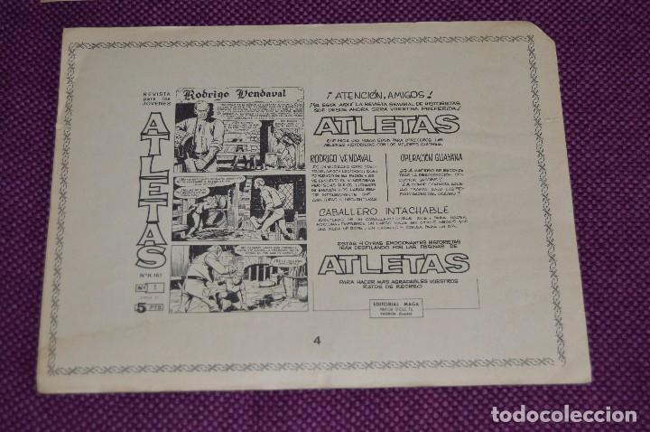 Tebeos: LOTE DE 2 NÚMEROS - EL ACROBATA TERREMOTO - EDITORIAL MAGA - ANTIGUO Y ORIGINAL - HAZME UNA OFERTA - Foto 4 - 90825440